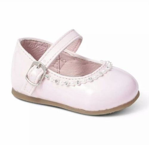 Hard Sole Shoe with Gem Detail - Val